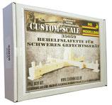 35059 Behelfslafette für schweres Kampfgerät Full Resin Kit
