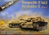 DW35021 StuG III Ausf.G  StuH 42 2in1 mit Zimmerit Bausatz 1:35
