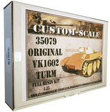 35079 Original VK 1602 Turm Conversion Kit Resin Kit