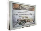 35023 Wehrmachtsanhänger SdAh.115 Abtransport einer V-1