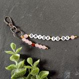 Bride to be • Schlüsselanhänger | Perlen