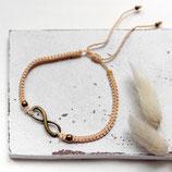 Infinity • Fußband | Makramee | Farbwahl