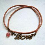 Love • Armband Leder | Armschmuck