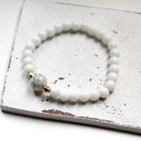 Traum in Weiß • Armband Perlen | Armschmuck