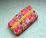 Taschentüchertasche bunte Blumen