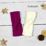 Gestricktes Stirnband ~ Twist | Herbst | Winter
