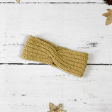 Gestricktes Stirnband ~ Twist | Patentmuster | Herbst | Winter
