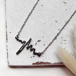 Heartbeat • Halskette silber