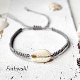 Muschel • Fußband   Makramee   Farbwahl