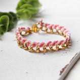 Flechtliebe • Armband gold | Armschmuck