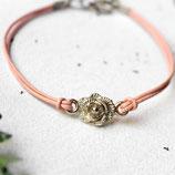 Lovely Rose • Armband Leder | Armschmuck | Farbwahl