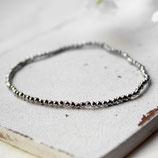 Hämatit • Armband Perlen | Armschmuck