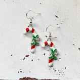 Zuckerstange • Ohrhänger | Ohrschmuck | Weihnachten