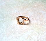 Ring Stern Goldfarben