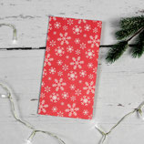 5er Set Papiertüten mit Schneeflocken ~ Weihnachten
