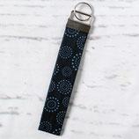 Blaue Kreise ~ Schlüsselanhänger | Schlüsselband | Taschenanhänger