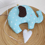 Elefant & Herz ~ Girlande | Kinderzimmer Deko | Mobile