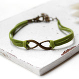 Infinity • Armband Velour | Farbwahl | Armschmuck