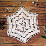 Stern ~ Häkeldeckchen | Tischdeckchen | Weihnachten