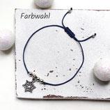 Schneeflöckchen • Armband Makramee | Armschmuck | Winter
