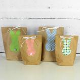 4er Set Geschenktüten ~ Ostern   Tüten Hase   Geschenkverpackung