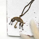Regenwetter • Halskette bronze | Halsschmuck