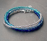 Summer Breeze • Wickelarmband | Armband Perlen | Farbverlauf | Armschmuck