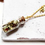 Golden Stars • Halskette Glas | Halsschmuck