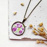 Frühlingsboten • Halskette bronze | Halsschmuck