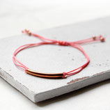 Tube • Armband rosegold   Farbauswahl   Armschmuck