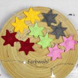 2er oder 5er Set gehäkelte Sterne zum Aufhängen ~ Baumschmuck | Weihnachten