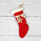 großer Nikolausstiefel gestrickt~ Weihnachten