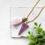Pink Dream • Halskette | Halsschmuck Druse