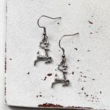 Hirsch • Ohrhänger | Ohrschmuck | Weihnachten