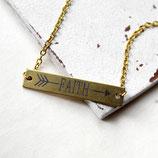 Faith • Halskette gold | Halsschmuck