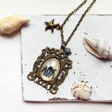 Krake • Halskette bronze | Halsschmuck