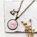 zarte Rose • Halskette bronze | Halsschmuck | Vintage