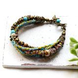 Tara • 5-reihiges Armband mit Perlen | Armschmuck