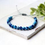 Sky Blue • Perlenarmband | Armband Makramee | Armschmuck | Farbwahl