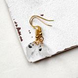 kleiner Geist • Ohrringe gold | Ohrschmuck