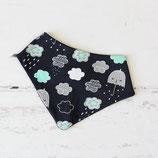 Halstuch ~ Regenwetter   Dreieckstuch   Babytuch