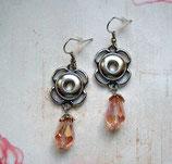 Ohrringe für Mini Chunks Silberfarben
