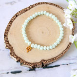 Glücksklee • Armband Perlen | Glasschmuck