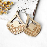 Tropfen • Ohrringe Holz   Ohrschmuck