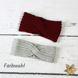 Gestricktes Stirnband ~ Twist | Patentmuster | Herbst | Winter