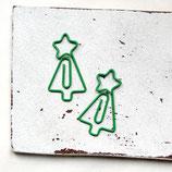 2er Set Büroklammern ~ Weihnachtsbaum