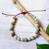 Amazonit • Armband Perlen | Edelsteinschmuck | Armschmuck