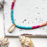 Muschel • Halskette Perlen | Halsschmuck