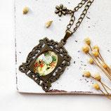 Vintage Clock • Halskette bronze | Halsschmuck