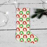 großer Nikolausstiefel ~ Bären mit Geschenken | Weihnachten